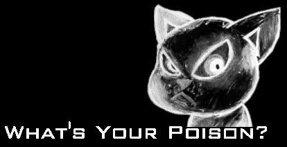 What's Your Poison? Cat
